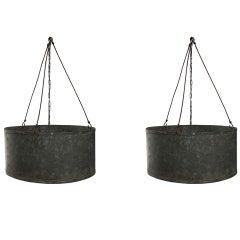 Zinc Round Drum Chandelier