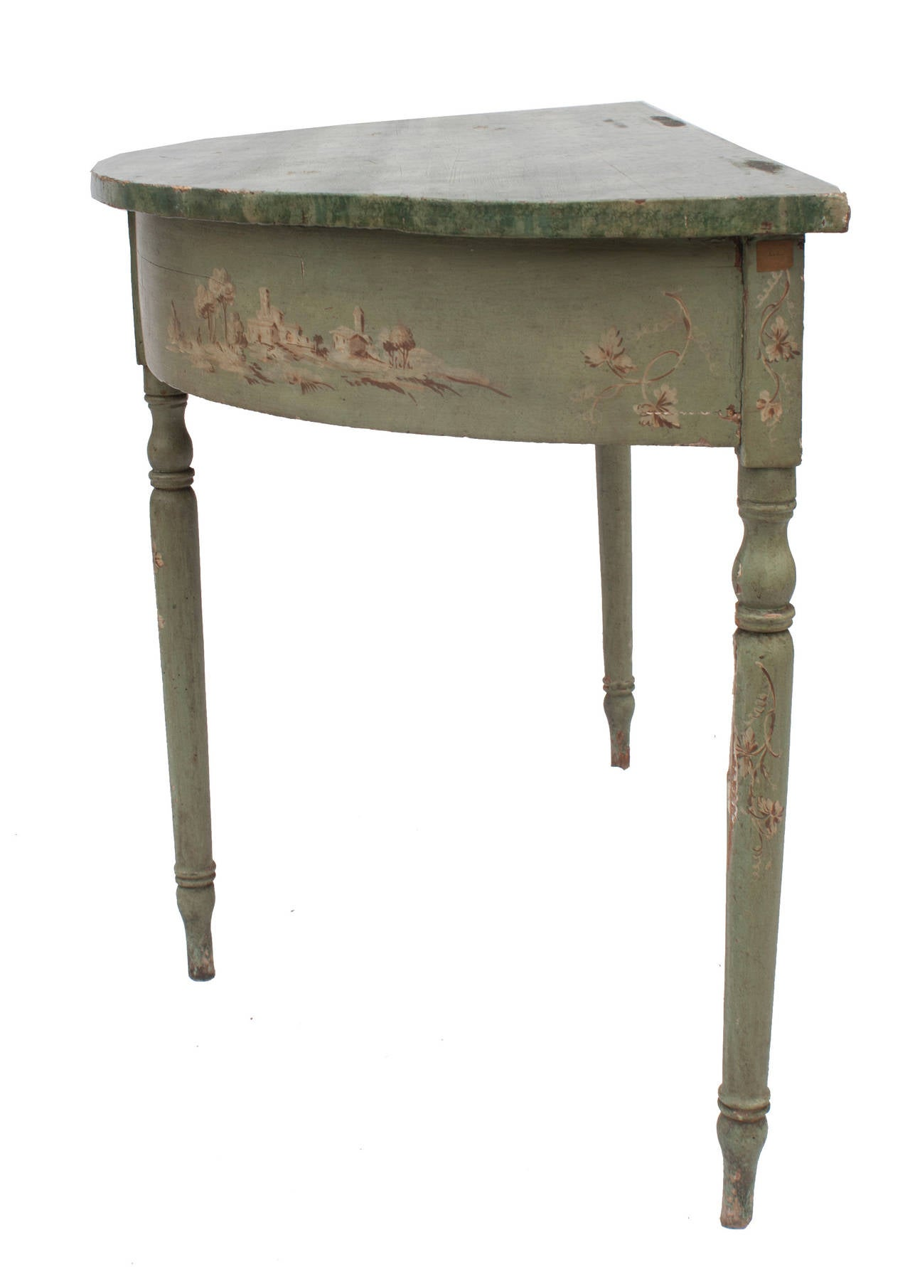 French Demilune Table For Sale At 1stdibs