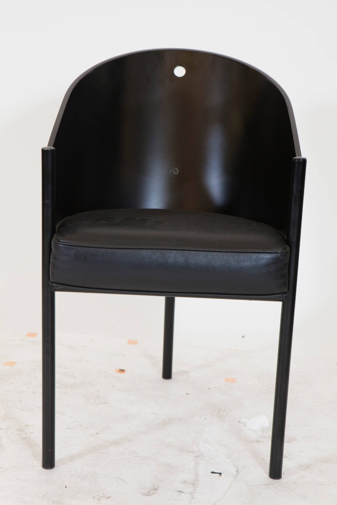 "20th Century Set of Eight Philippe Starck ""Costes"" Chairs For Sale"