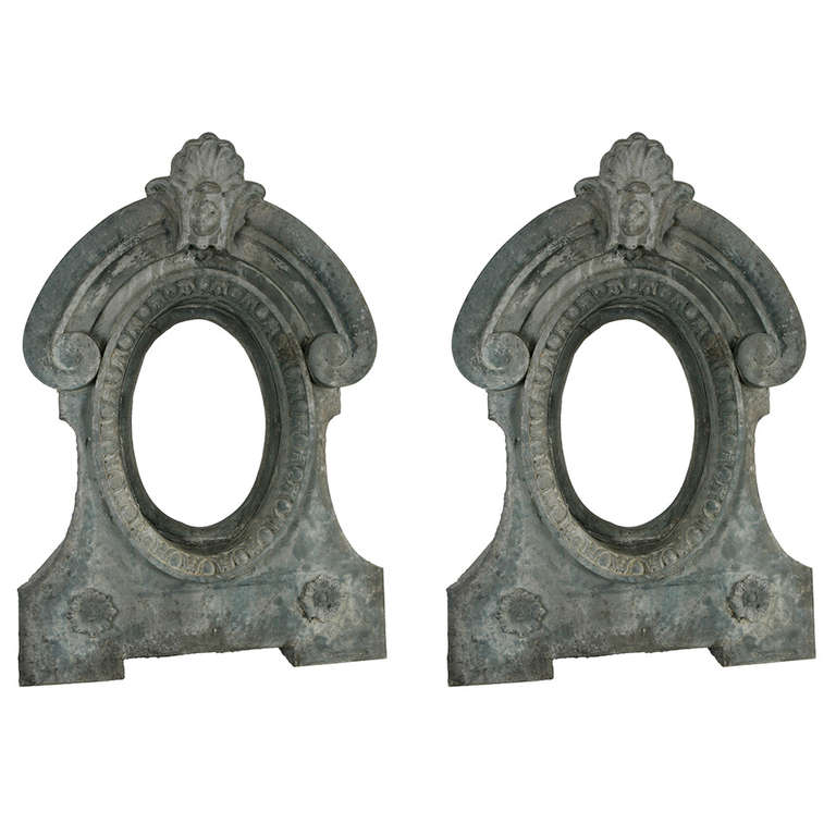 Pair of Architectural Dormer Mirrors