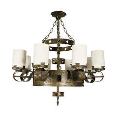 Spanish Eight Light Chandelier