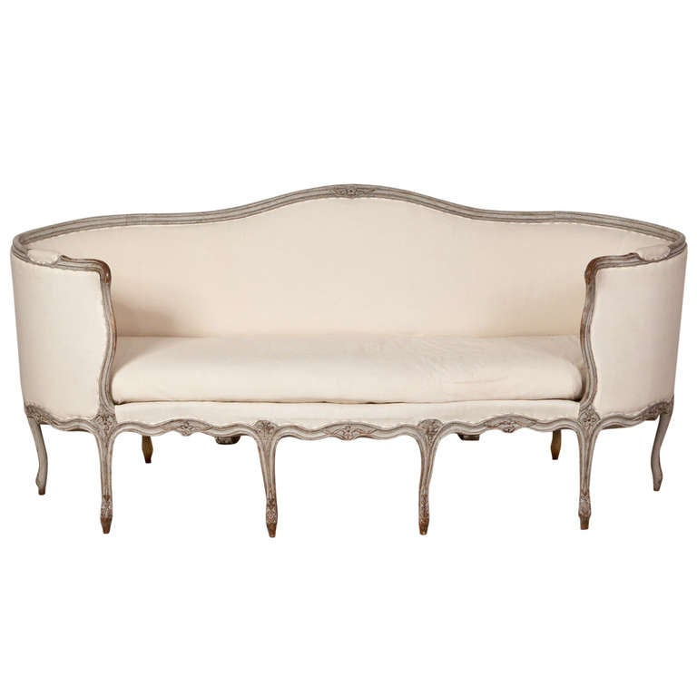 19th century curved arm sofa at 1stdibs