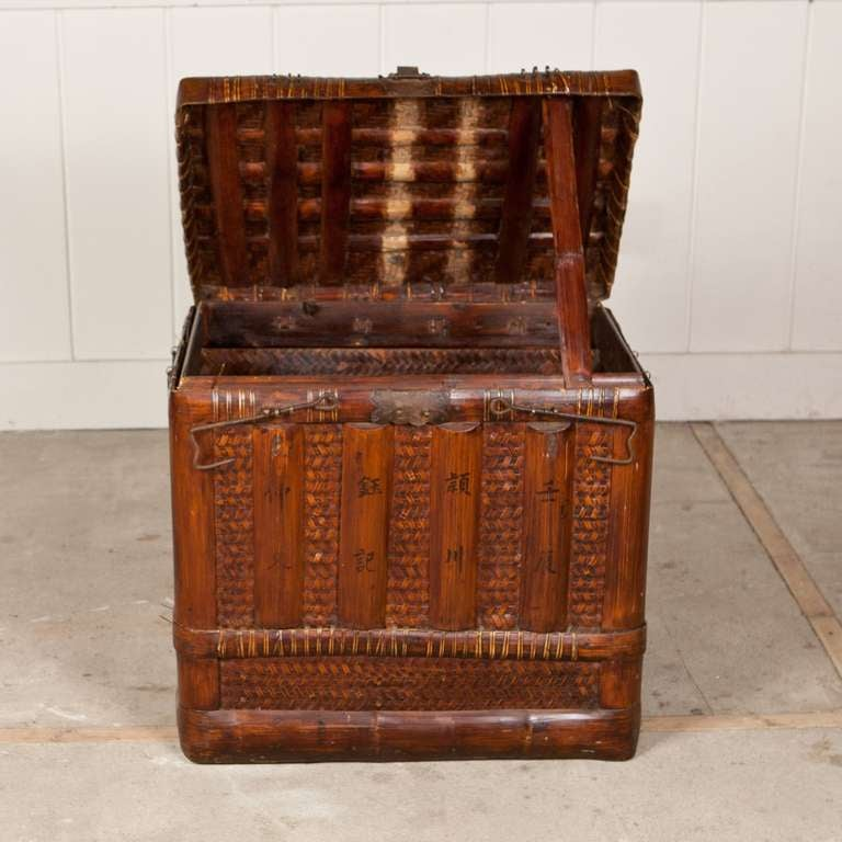 Mr Rosselli 39 S Antique Chinese Traveling Chest At 1stdibs
