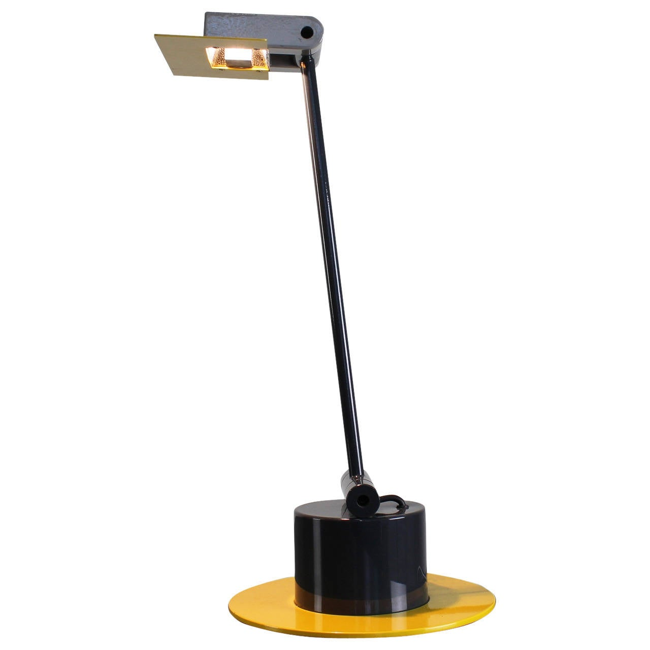 ettore sottsass associati 1980s aero table lamp for bieffeplast