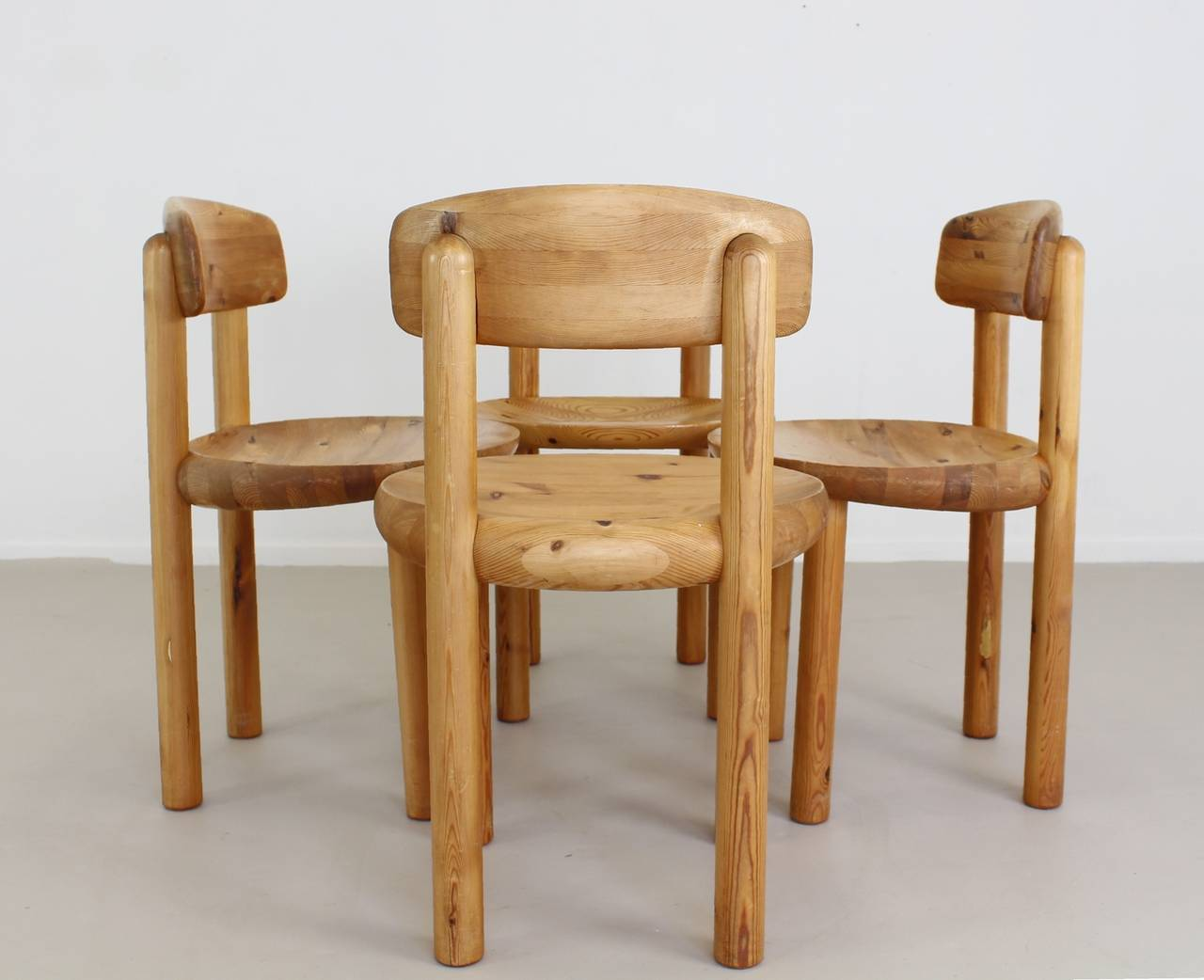danish dining chairs by rainer daumiller inspired by charlotte