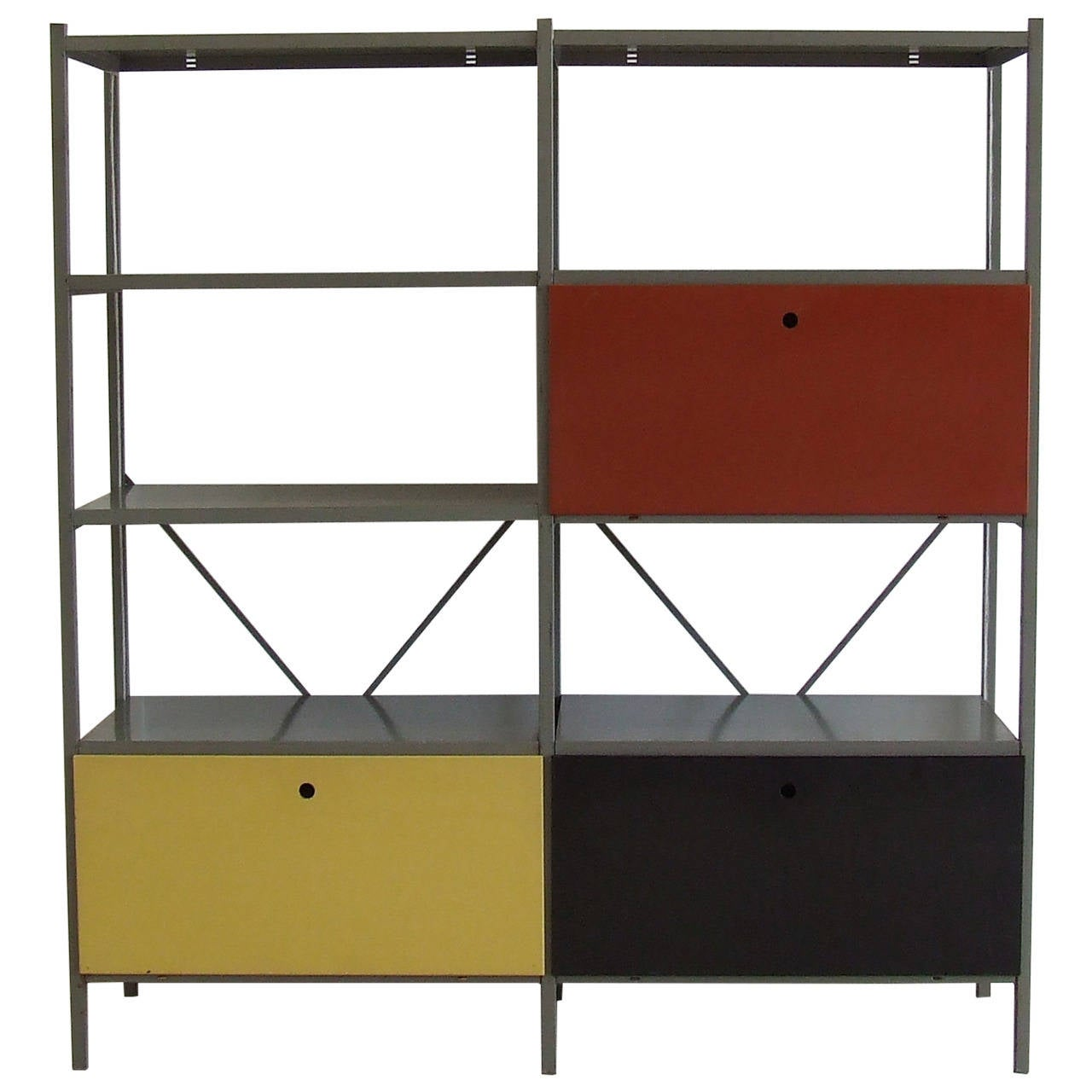 Modular Industrial Wall System By Rietveld For Gispen
