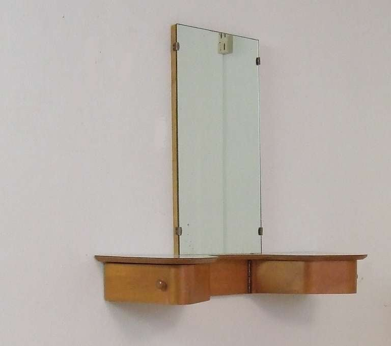 Cees Braakman Wall Mount Dressing Table For Sale At 1stdibs