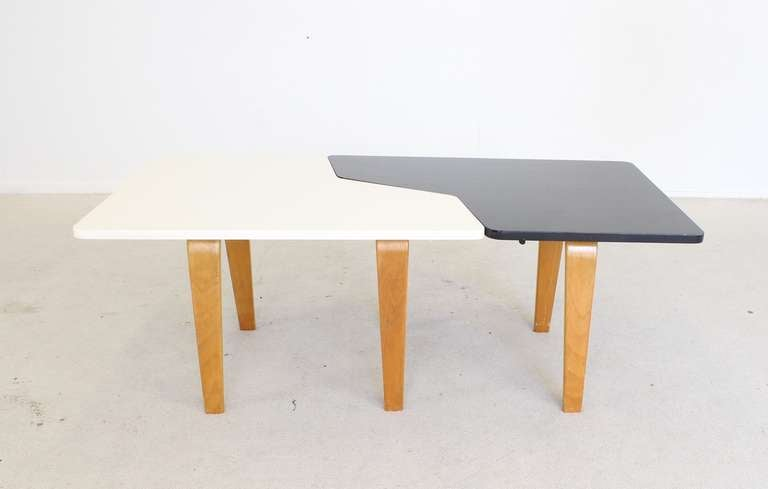 Dutch Design Bentwood Combex Coffee Tables For Ums Pastoe At 1stdibs