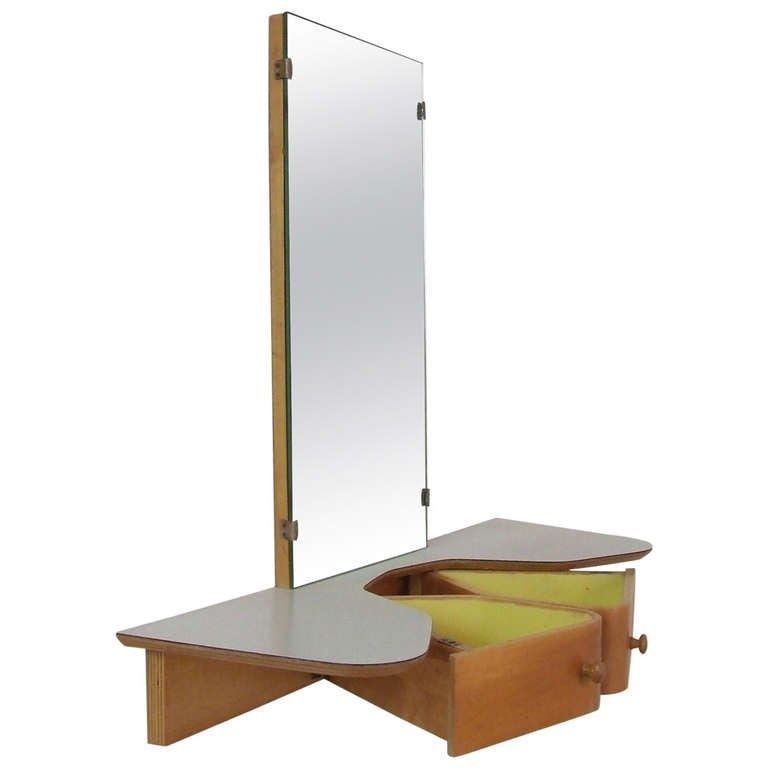 Cees braakman wall mount dressing table at stdibs