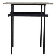 Wim Rietveld For Auping Large Version Side or Night Table in Patinated Condition