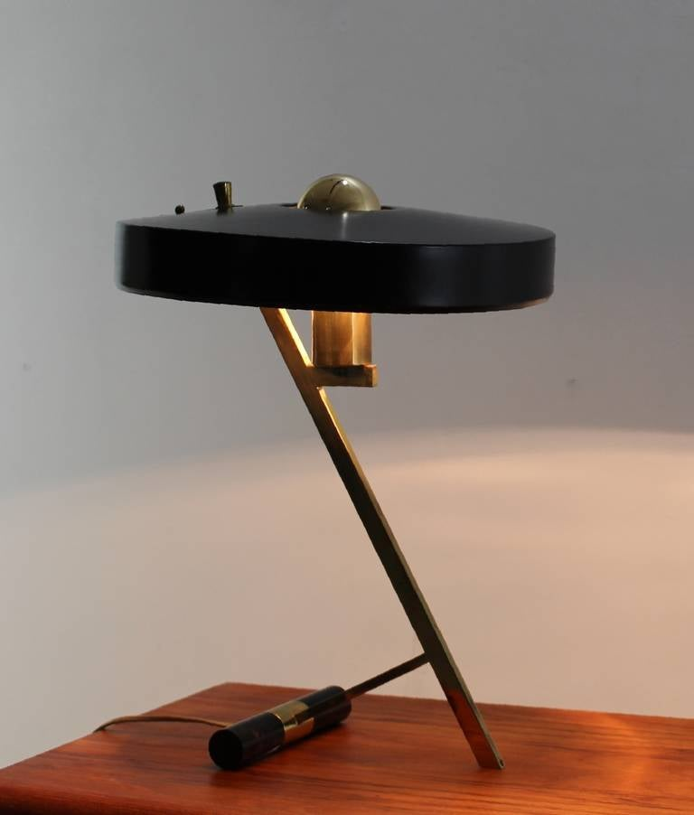 Quot Z Quot Lamp By Louis Kalff For Philips Holland At 1stdibs