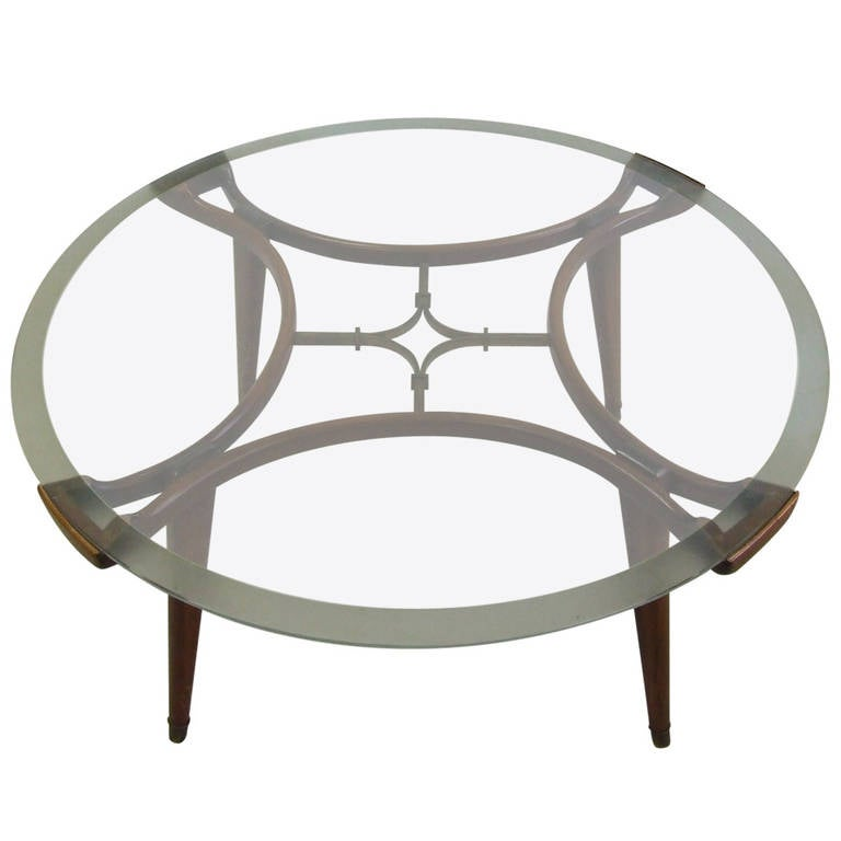 Gio Ponti Style Coffee Table In Top Condition At 1stdibs