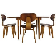 Bentwood Dining Set by Cees Braakman for UMS Pastoe Holland