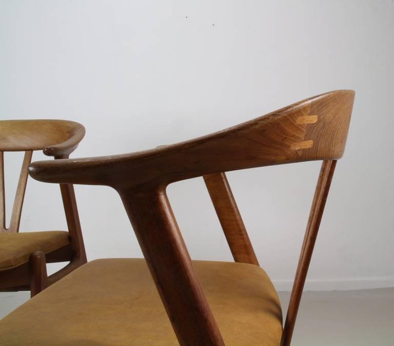 marvelous nordic design chairs by torbjorn afdal for bruksbo norway 3 - Nordic Design Furniture