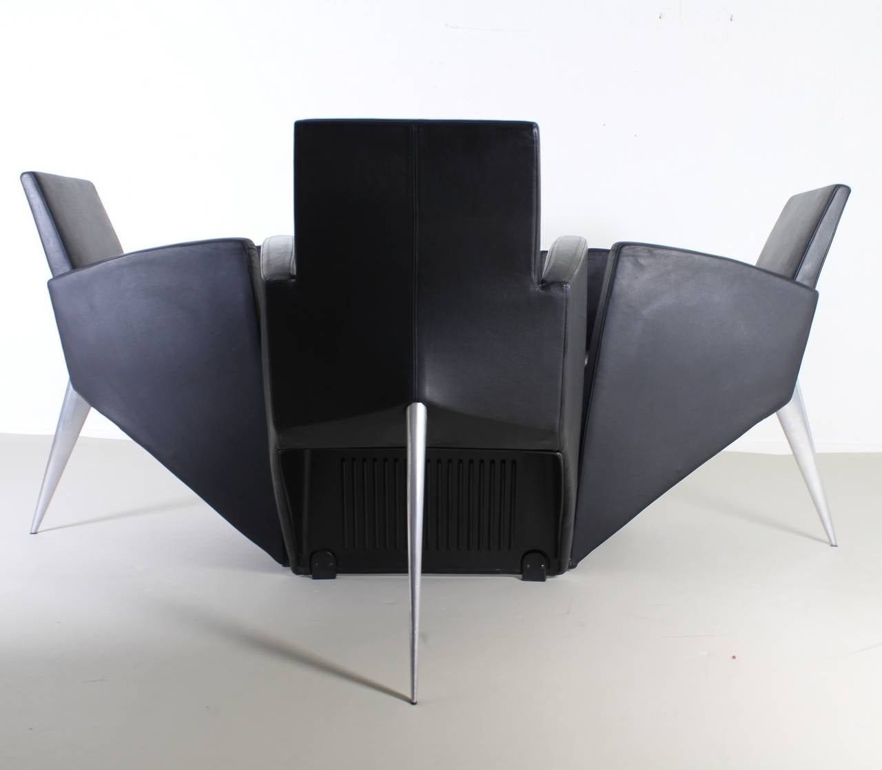 Lounge chairs by philippe starck for aleph france for sale at 1stdibs - Chaises philippe starck ...