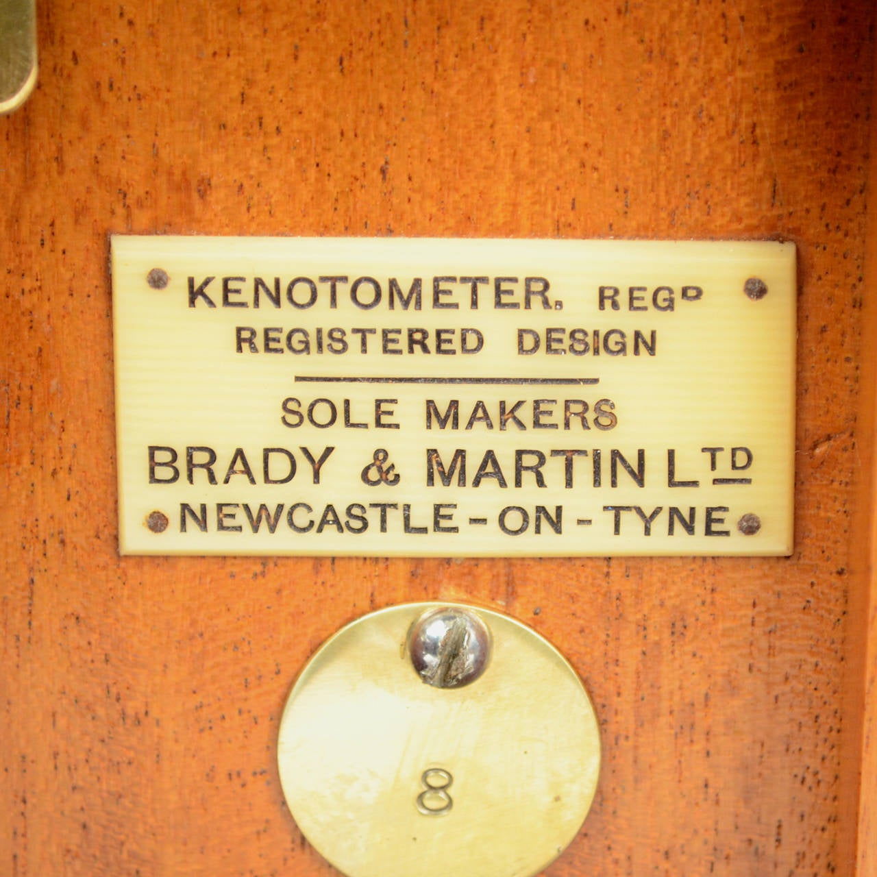 letter of request letter kenotometer signed brady and martin ltd newcastle on tyne 10202