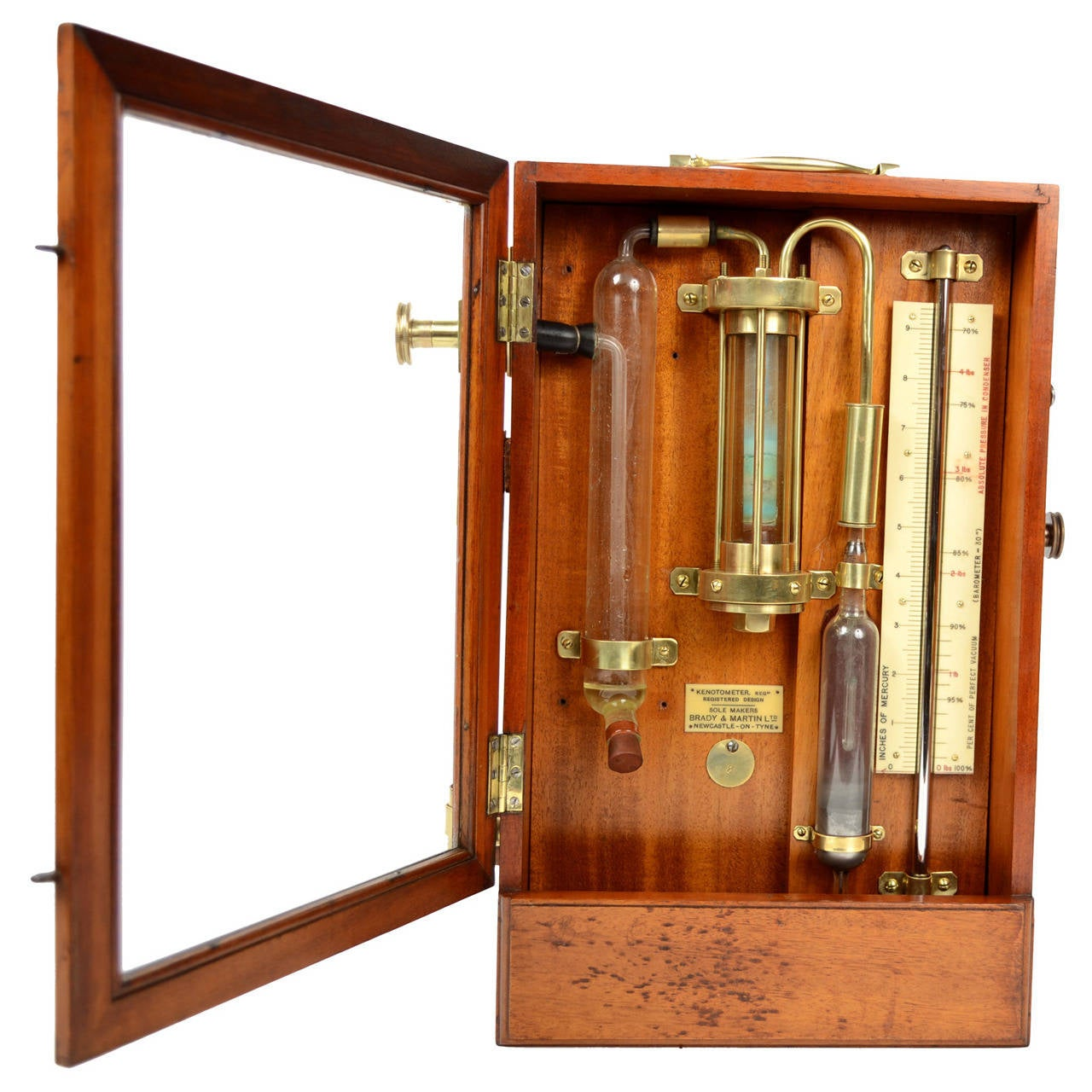 Kenotometer Signed Brady And Martin Ltd Newcastle On Tyne Early 1900 For Sale At 1stdibs