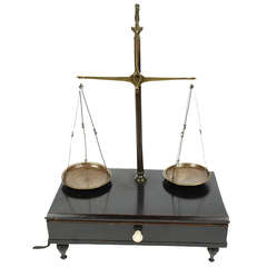 Particular Scales for Hunter to Weigh Gunpowder, Early 1800
