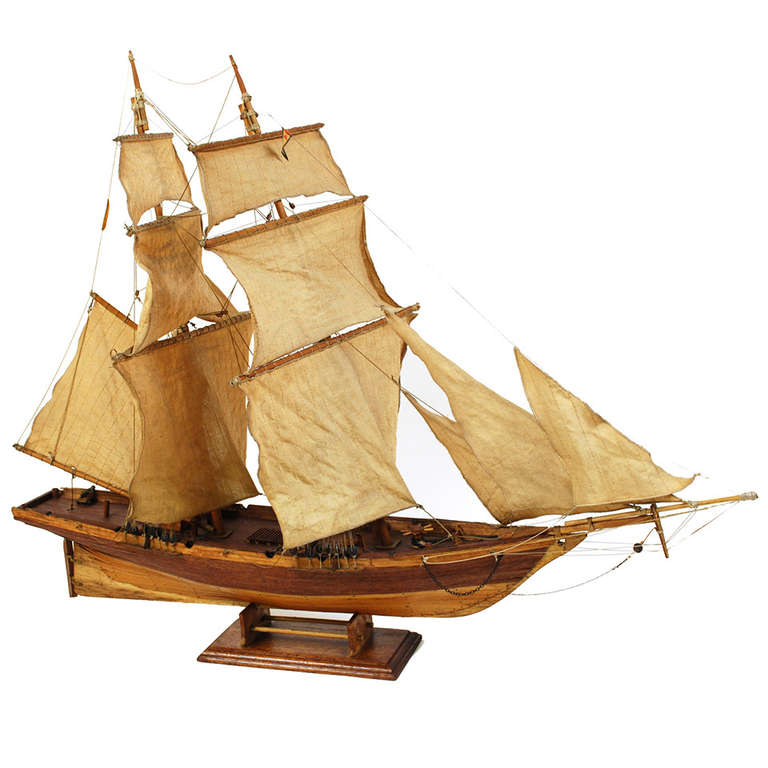Model of a Revenue Cutter for Pursue Smugglers, 1920s