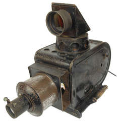 Antique Light Projector for Theater Sets