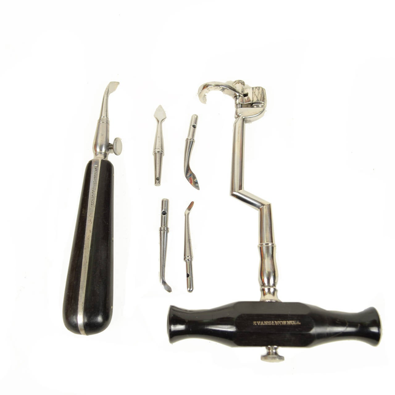 Dentist Set Signed Evans & Wormull 31 Stamford London In Excellent Condition For Sale In Milan, IT