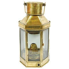 English Lamp, End of the 19th Century