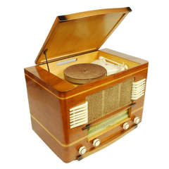 Atlantic type 104A radio-record player, French manufacture, 1951