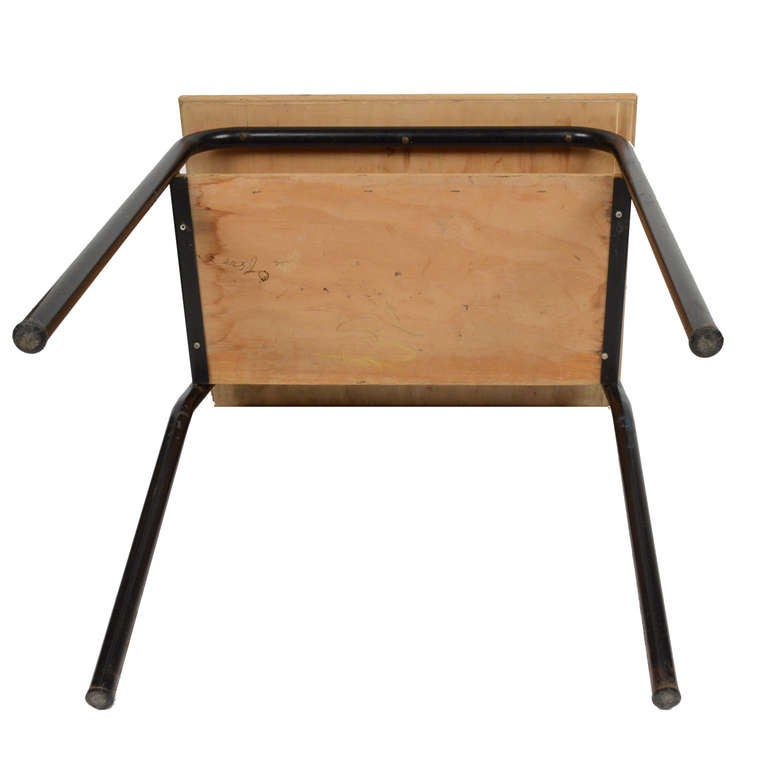 Very Nice Small School Desk And Chair Italy 1950s At 1stdibs