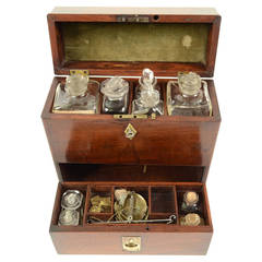 English apothecary cabinet