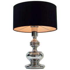 Mid-Century 1960-1970s Chrome Bubble Table Lamp