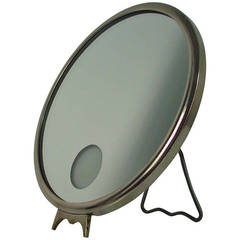 French Art Deco Illuminated Vanity Mirror Le Mirophar by Brot