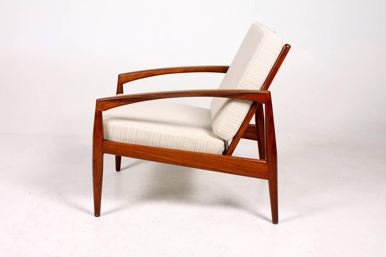 Pair of easy chairs by kai kristiansen at 1stdibs - Kai kristiansen chair ...