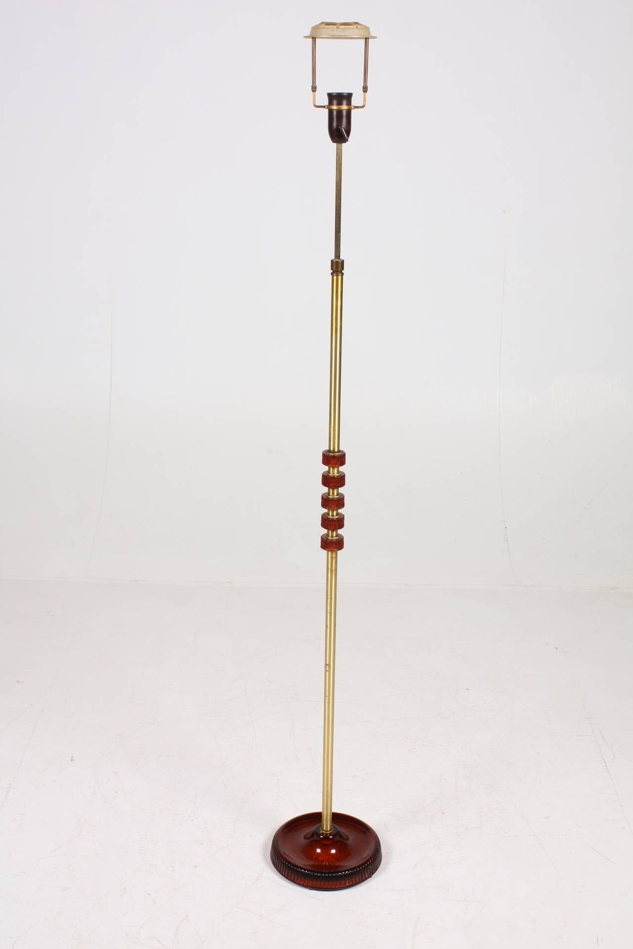 Mid-20th Century Floor Lamp by Carl Fagerlund For Sale