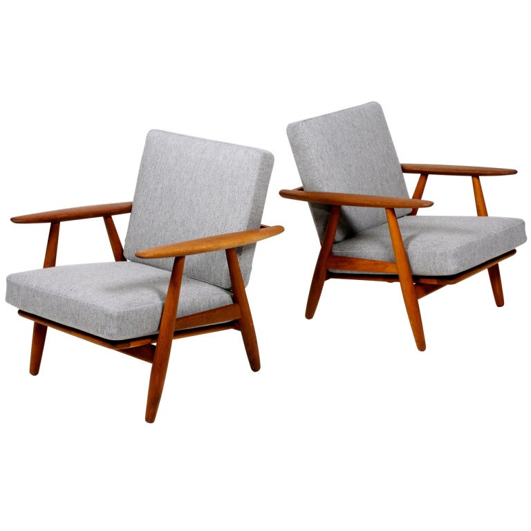 The Cigar chair by Wegner at 1stdibs