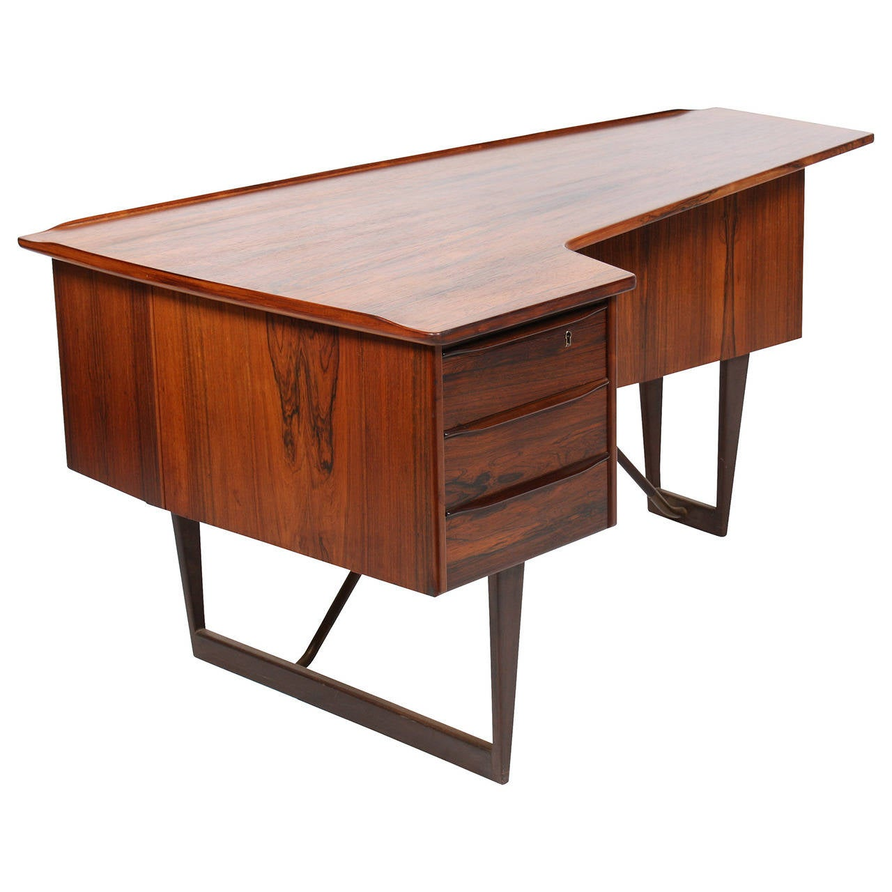 Desk in Rosewood by SA Madsen 1