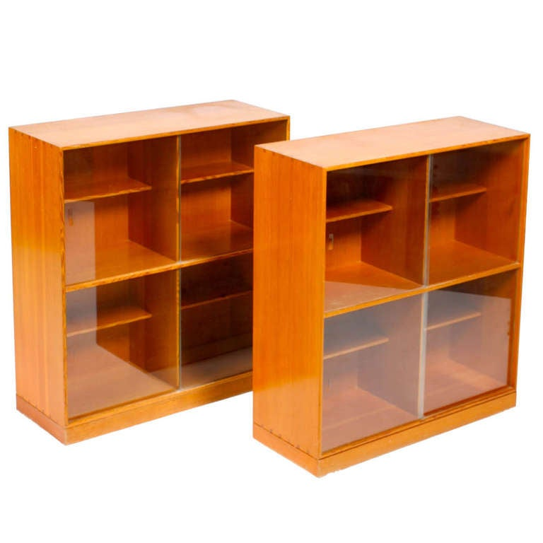 Pair of Display Cabinets by Mogens Koch