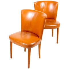 Pair of Side Chairs by Frode Holm