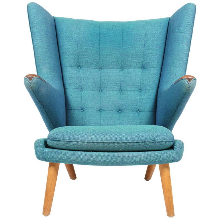 Original Papa Bear Chair By Hans J Wegner At 1stdibs