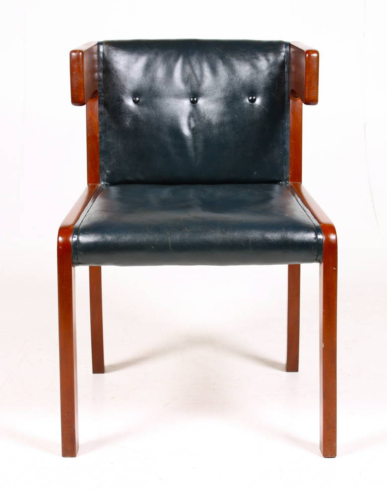 rare desk chair by ole wanscher for sale at 1stdibs