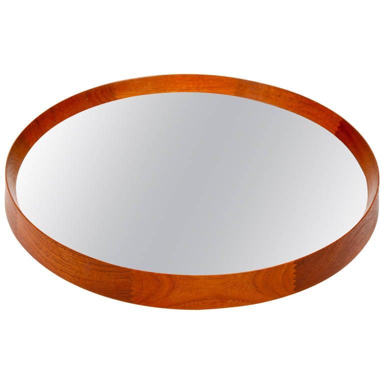 Teak Framed Mirror 1950s