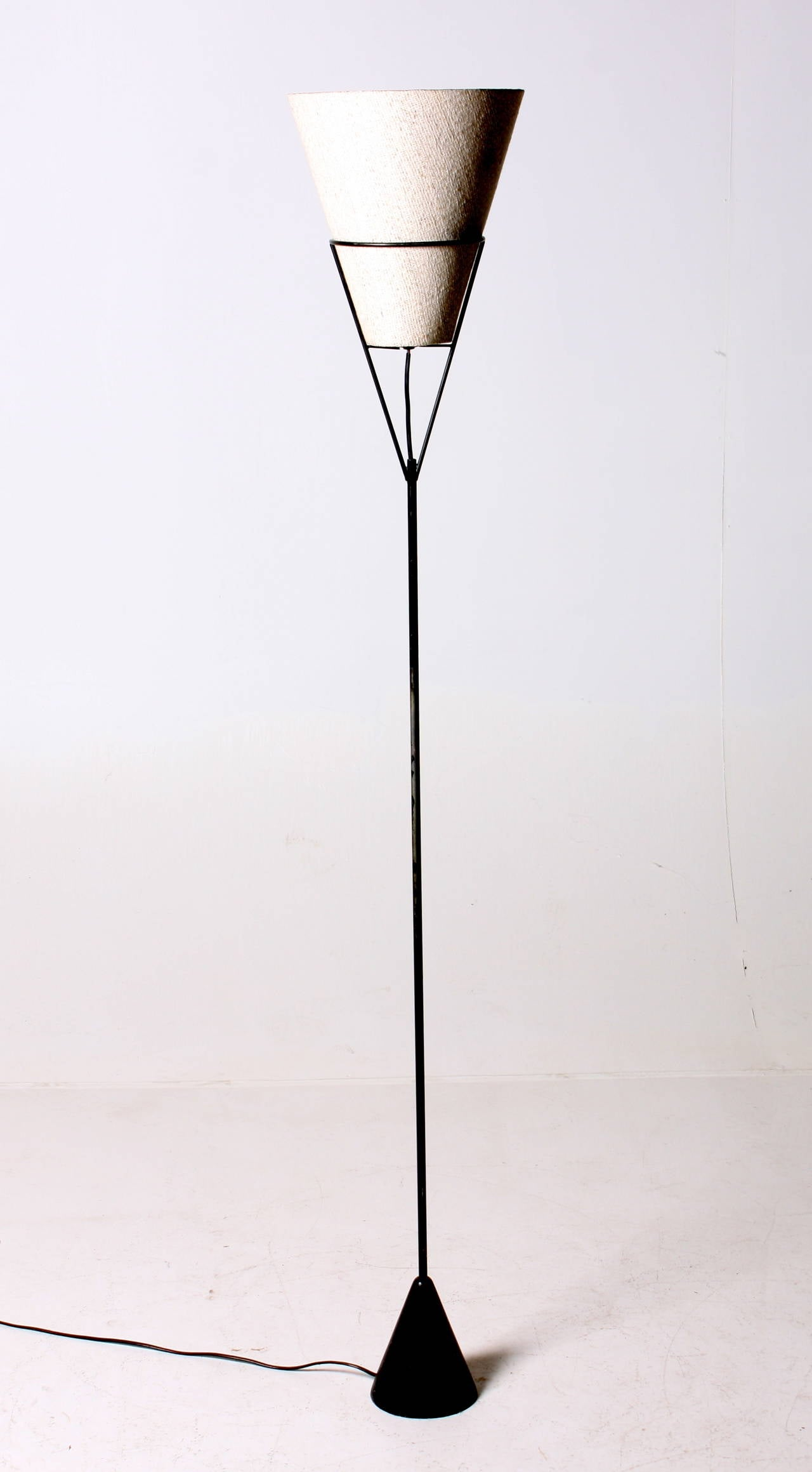 up and down floor lamp from the 1950s for sale at 1stdibs. Black Bedroom Furniture Sets. Home Design Ideas