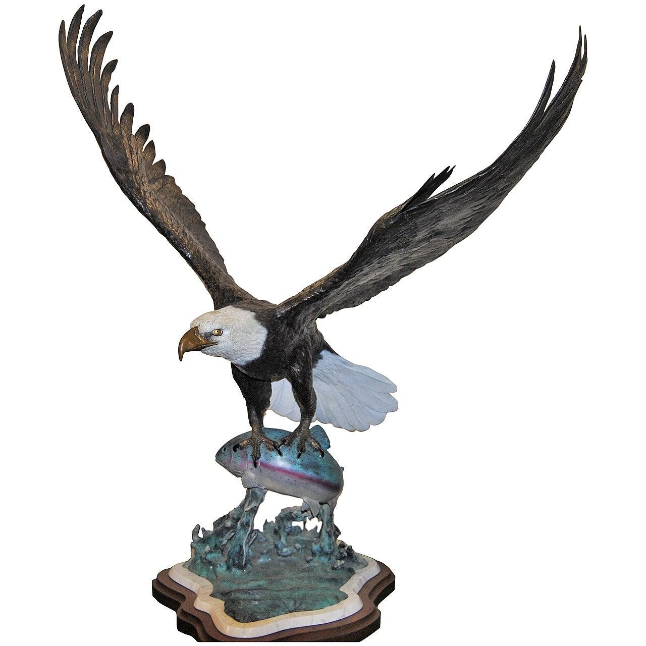 Bronze Sculpture by Ron Leep