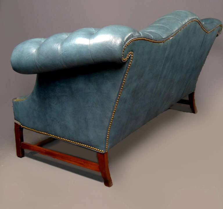 Chippendale Style Chesterfield Sofa At 1stdibs