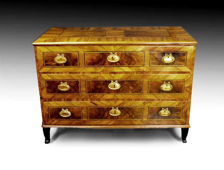 German 18th Century Commode Chest of Drawers 2
