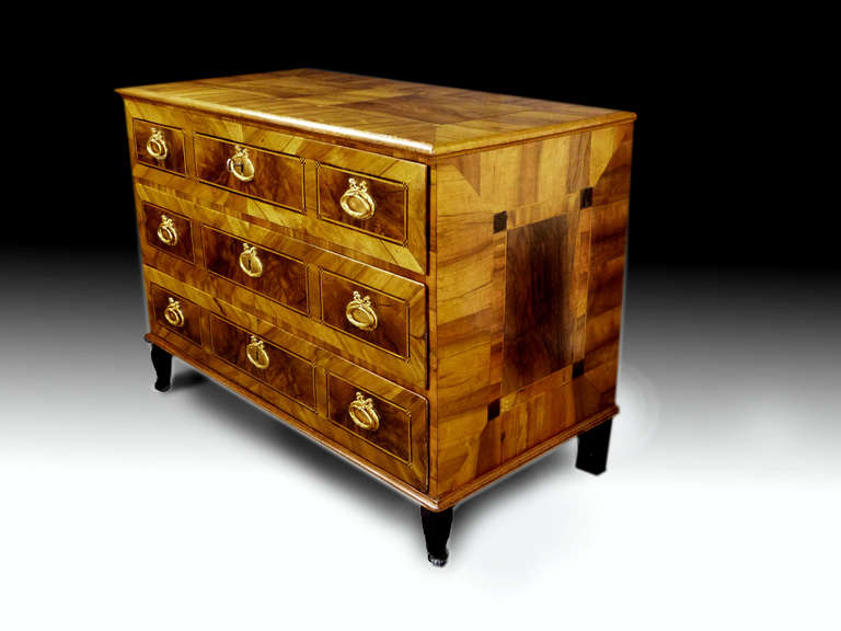 German 18th Century Commode Chest of Drawers 4