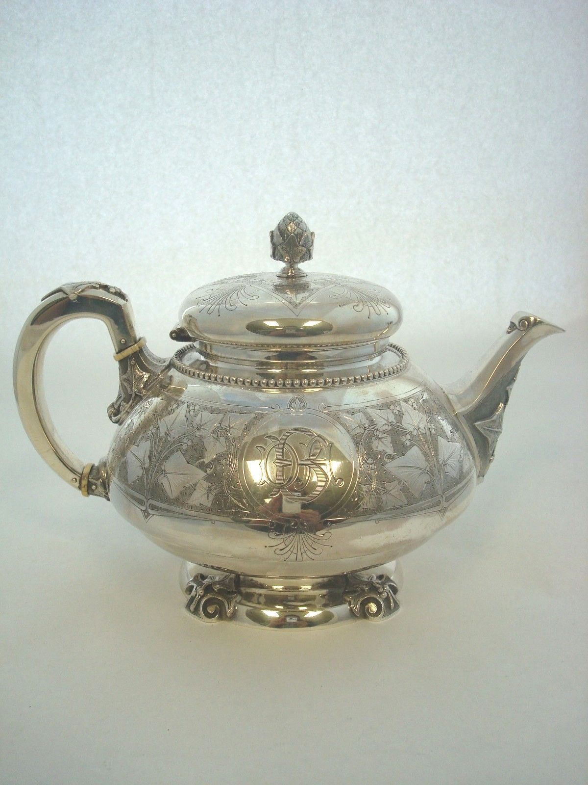 Ivy By Tiffany Amp Co Sterling Silver Tea Service And