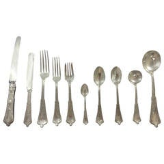 Persian by Tiffany & Co. Sterling Silver Flatware Set Service Dinner 84 Pieces