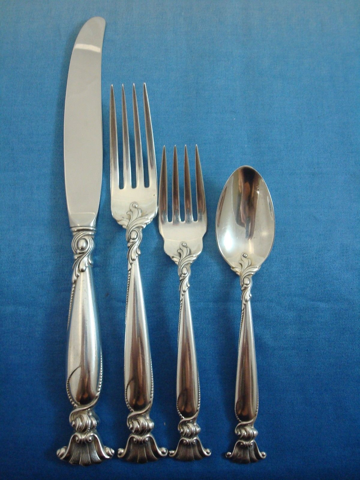 Quot Romance Of The Sea Quot Wallace Sterling Silver Flatware