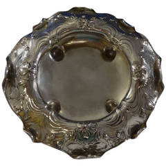 Martele Gorham Sterling Silver Round Salad Berry Bowl Museum Quality Hollowware