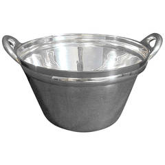 Jose Marmolejo Modernism Ice Or Salad Bowl Heavy 42.5 Troy Ounce